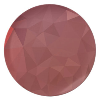 Amaranth Purple Abstract Low Polygon Background Plate