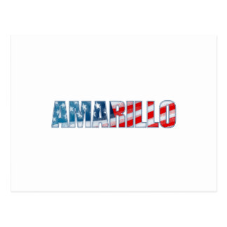 Amarillo Postcard