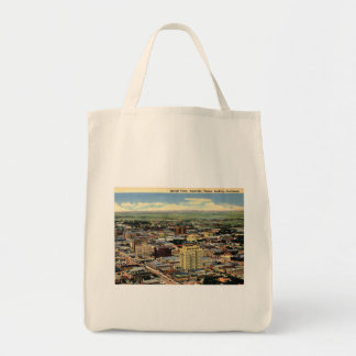 Amarillo, Texas, Aerial View, 1950 Vintage Tote Bag