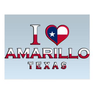 Amarillo, Texas Postcard