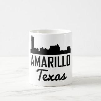 Amarillo Texas Skyline Coffee Mug