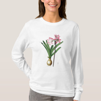 Amaryllis Belladonna, from 'Les Liliacees', engrav T-Shirt