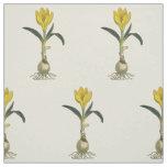Amaryllis Botanical Vintage Garden Print Fabric