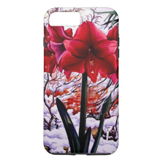 Amaryllis by Snow Window iPhone 7 Plus Case