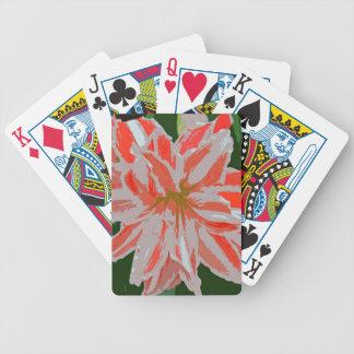 Amaryllis-d Bicycle Playing Cards