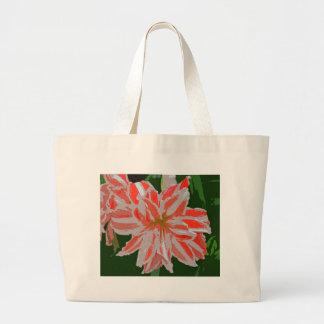 Amaryllis-d Large Tote Bag