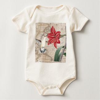Amaryllis Mao Hummer Baby Bodysuit