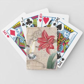 Amaryllis Mao Hummer Bicycle Playing Cards