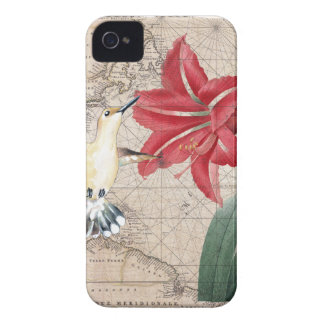 Amaryllis Mao Hummer iPhone 4 Case-Mate Case
