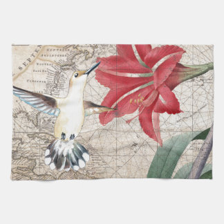 Amaryllis Mao Hummer Kitchen Towel
