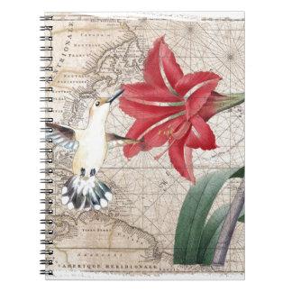 Amaryllis Mao Hummer Notebooks