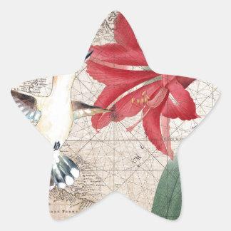 Amaryllis Mao Hummer Star Sticker