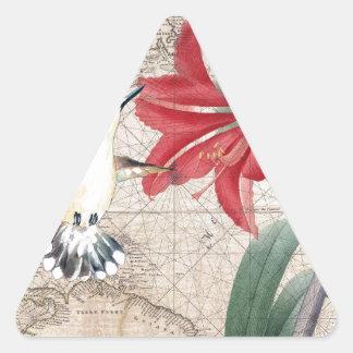 Amaryllis Mao Hummer Triangle Sticker