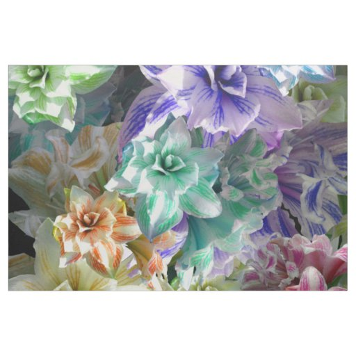 Amaryllis Party Fabric
