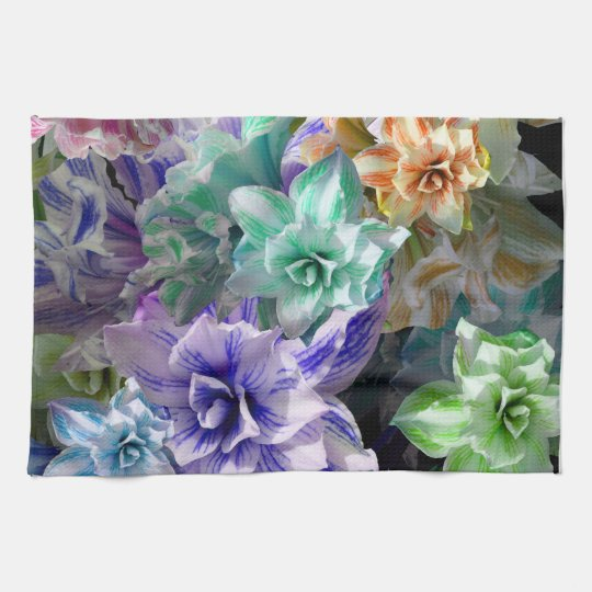 Amaryllis Party Hand Towels