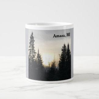 Amasa, MI Sunset Mug