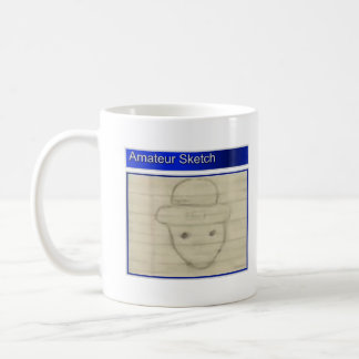 Amateur Leprechaun Sketch Coffee Mug
