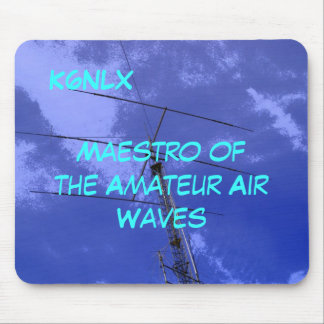 Amateur Radio Call Sign Air Waves Mousepad