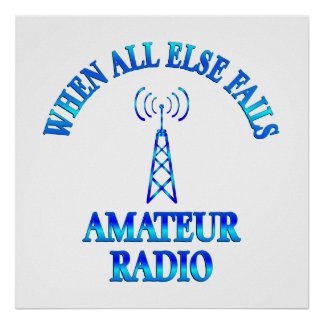 Amateur Radio Helps Poster
