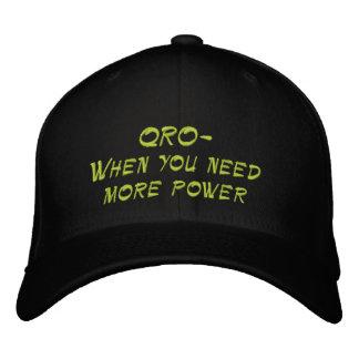 Amateur Radio QRO More Power Hat