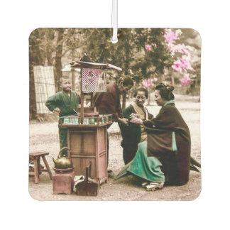 Amazake Merchant Old Japan Vintage Japanese Wine Air Freshener