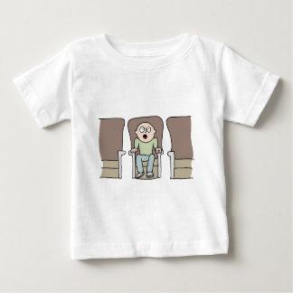 Amazed movie watcher baby T-Shirt