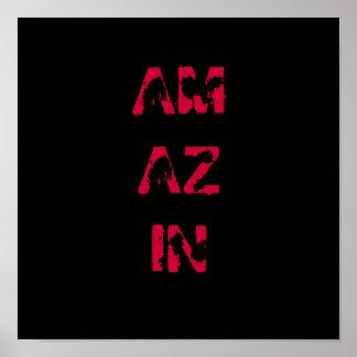 AMAZIN Poster