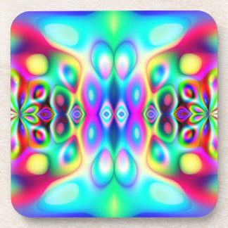 Amazing Abstract Colors Coaster