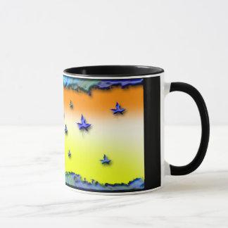 amazing abstract design on mug