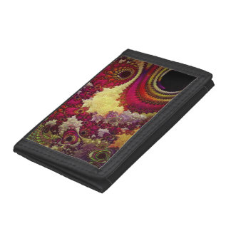 amazing Abstract fractal geometry Tri-fold Wallet