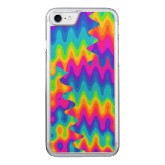 Amazing Acid Rainbow Carved iPhone 7 Case