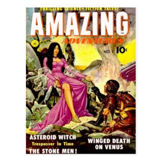 Amazing Adventures 1 Postcard