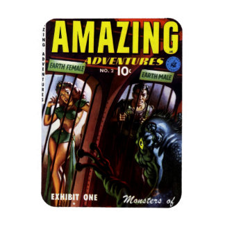 Amazing Adventures #2 - Exhibit One Magnet