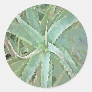 Amazing Aloe Vera Classic Round Sticker