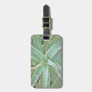 Amazing Aloe Vera Luggage Tag