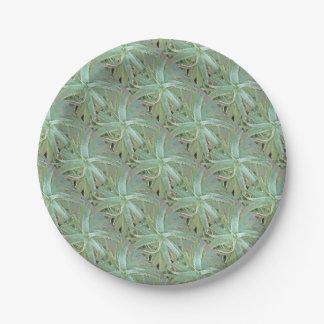 Amazing Aloe Vera Paper Plate
