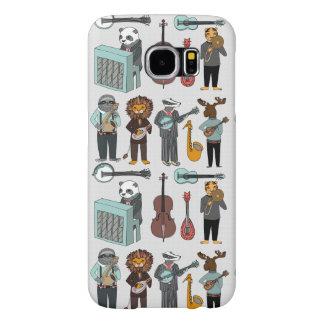 Amazing Animal Alphabet Band - Boy / Andrea Lauren Samsung Galaxy S6 Cases