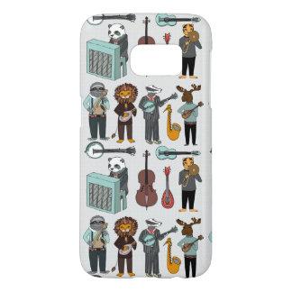 Amazing Animal Alphabet Band - Boy / Andrea Lauren Samsung Galaxy S7 Case