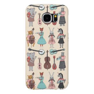 Amazing Animal Alphabet Band - Girl /Andrea Lauren Samsung Galaxy S6 Cases