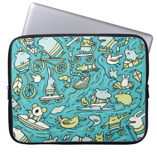 Amazing Animal Power Laptop Sleeve
