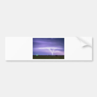AMAZING Anvil Lightning Creepy Crawlers Bumper Sticker