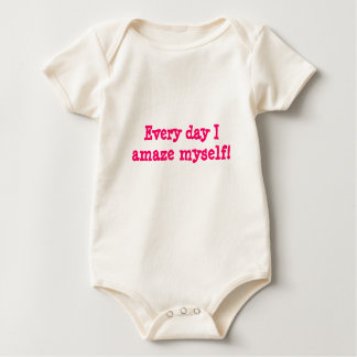 Amazing baby shirt - Pink butterfly design on back