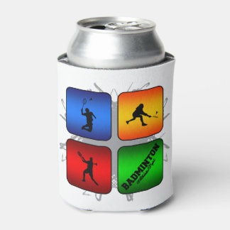Amazing Badminton Urban Style Can Cooler
