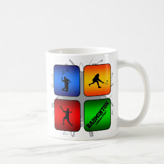 Amazing Badminton Urban Style Coffee Mug