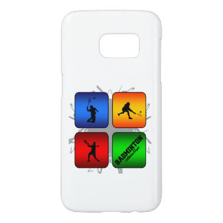 Amazing Badminton Urban Style Samsung Galaxy S7 Case