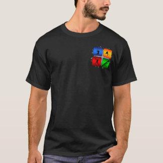 Amazing Badminton Urban Style T-Shirt