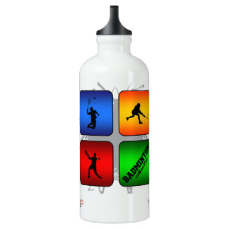 Amazing Badminton Urban Style Water Bottle