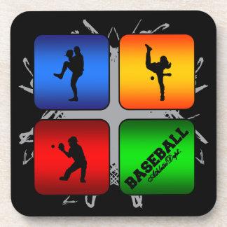 Amazing Baseball Urban Style Coasters
