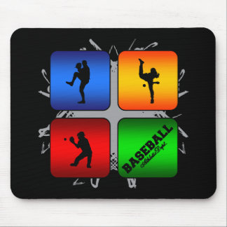 Amazing Baseball Urban Style Mouse Pad