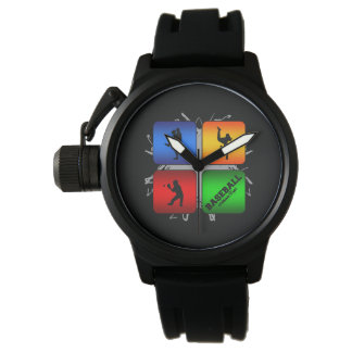 Amazing Baseball Urban Style Watch